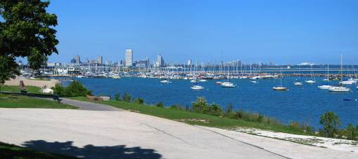 Bayview Park is located in St. Francis south of Milwaukee