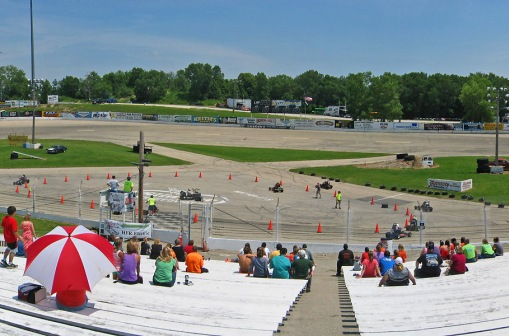This photo is of the June 30th, 2013 Memorial Go-kart Event held at Slinger, Wisconsin