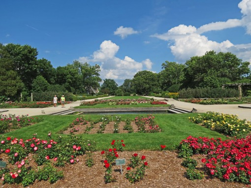 The Boerner Botanical Gardens at Milwaukee, Wisconsin is celebrating 75 years of gardening.