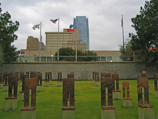 The Oklahoma City National Memorial is to remember the 168 who were killed, those who were survived, and those changed forever.