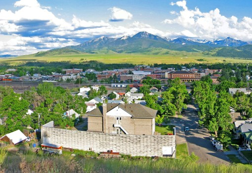 Livingston, Montana is now a small rural town located 55 miles north of Yellowstone National Park.